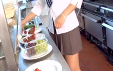 Schoolgirl Karlie Simon feels so horny
