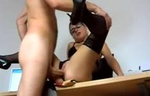 Lucky school guy fucks hot teacher