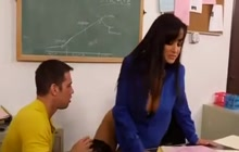 Lisa Ann has a new lesson for her student
